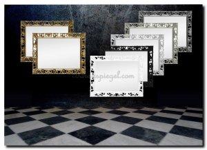 Witte Barok Spiegel : Barok spiegel oud zilver angelas kroonjuweeltje