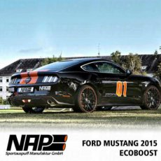 NAP Ford Mustang EcoBoost Sportuitlaat Kleppen ECE