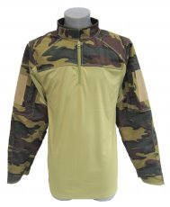 Snijwerende combat shirt Woodland Spec-Cool
